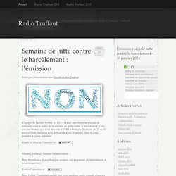 Programmes de webradio de l'EREA François Truffaut