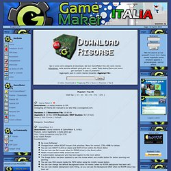 Game Maker Italia - Sviluppo giochi e programmi con GameMaker /GMItalia - Downloads