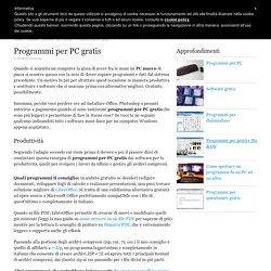 Programmi per PC gratis