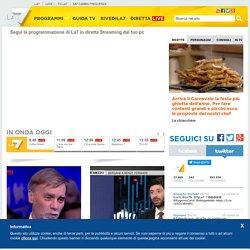 Guarda La7 in diretta sul web