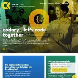 Programmieren für Kinder – 11 tolle Ideen - Coding Kids