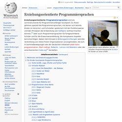 Erziehungsorientierte Programmiersprachen