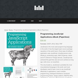 Programming JavaScript Applications eBook (Paperless) – Learn JavaScript