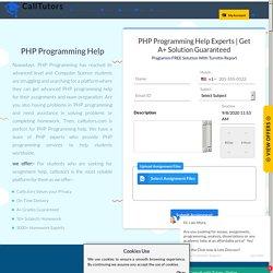 PHP Programming Help