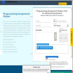 Best Programming Assignment Experts