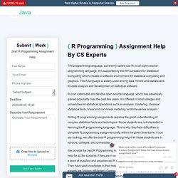 Online Rstudio Assignment Help