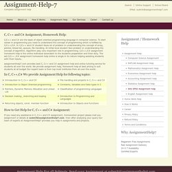 Online homework Help - AssignmentHelp7