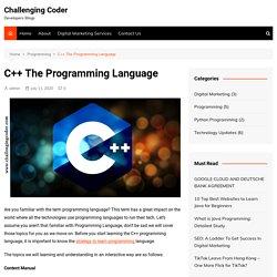 C++ The Programming Language - Challenging Coder