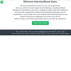 InterviewStreet