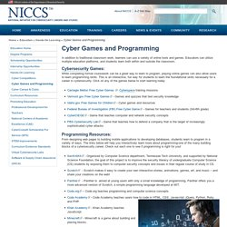 National Initiative for Cybersecurity Careers and Studies (NICCS)