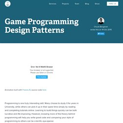 Game Programming Design Patterns