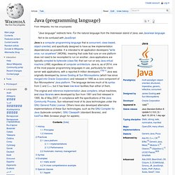 Java (programming language)