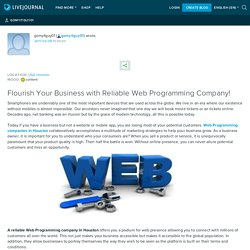 Reliable Web Programming Company!