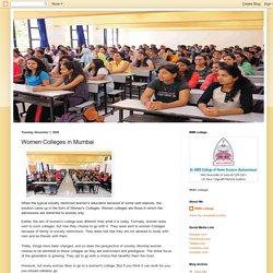 Women Colleges in Mumbai