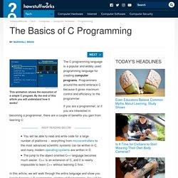 "The Basics of C Programming"""