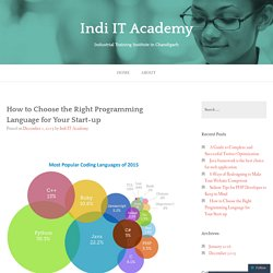 How to Choose the Right Programming Language for Your Start-up – Indi IT Academy