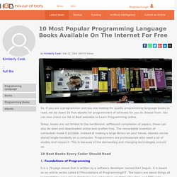 10 Most Popular Programming Language Books Available On The Internet For Free