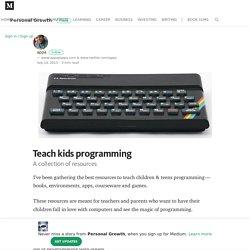 Teach kids programming