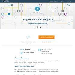 Good Program Design