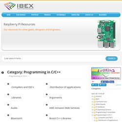 Programming in C/C++ – Raspberry Pi Projects