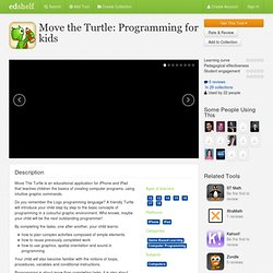 Move the Turtle: Programming for kids Reviews