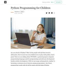 Python Programming for Children