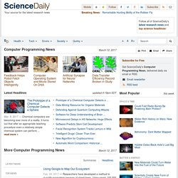 Computer Programming News