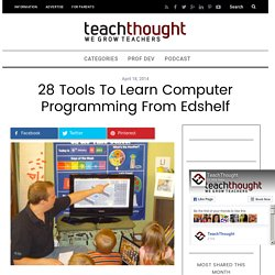 28 Tools to Learn Computer Programming From edshelf