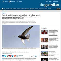 Swift: a developer's guide to Apple's new programming language