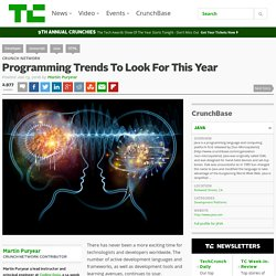 Programming Trends To Look For This Year