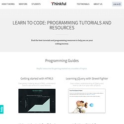 Learn to Code: Programming Tutorials and Resources