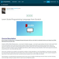 Learn Scala Programming Language from Scratch: vernonemrit