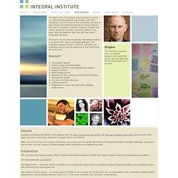 Integral Institute