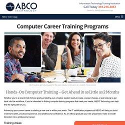Programs - ABCO Technology, Computer School Los Angeles