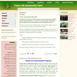 Tryon Life Community Farm