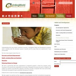 Programs - UnitingWorld UnitingWorld