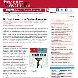 Big Data : les progrès de l'analyse des données