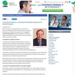 Le succès de Danone : le progrès économique durable lié au progrès humain