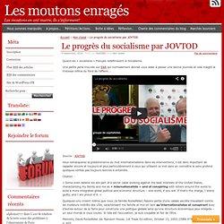 Le progrès du socialisme : Les ROCKFELLER et l'internationalisme.
