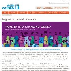 Progress of the world's women