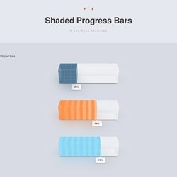 Shaded Progress Bars: A CSS/Sass Exercise