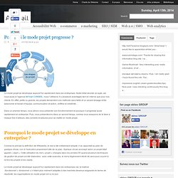 Pourquoi le mode projet progresse ? | Webzine d'Art'mail | La Communication digitale | l'e-business