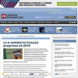 Le e-commerce français progresse en 2010