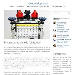 Progresser au-delà de l'obligation - Speedevelopment