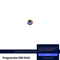 Progression EMI 2019 by baccadoc on Genially
