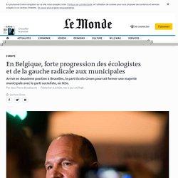 Belgique: percée des écologistes aux élections locales