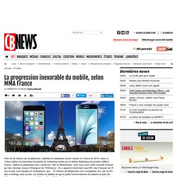 La progression inexorable du mobile, selon MMA France