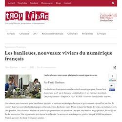 Les banlieues, nouveaux viviers du numérique français