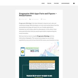 Progressive Web Apps Facts and Figures