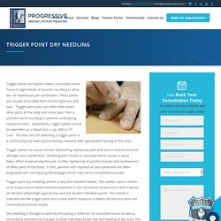 Dry Needle Trigger Point Therapy in Cedar Rapids